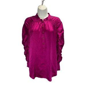 Diane Von Furstenberg Silk Blouse Size 6